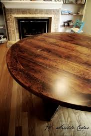 reclaimed wood round table in toronto blog 48 round pedestal dining table 72 inch round dining