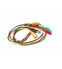 connection wire alligator clips red black yellow white connection wire alligator clips red black yellow white green 24