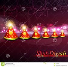 Indian Festival Decoration Vector Decoration Colorful Indian Festival Diwali Crackers Stock