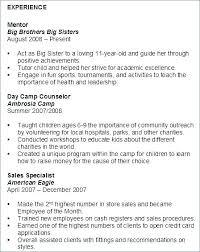 Volunteer Resume Custom Sample Volunteer Resume Sample Professional Resume