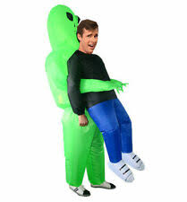 <b>Inflatable Costume Alien</b> Unisex Fancy <b>Dress</b> for sale | eBay