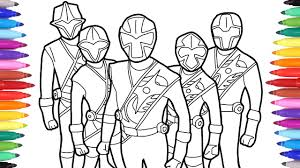 Check your email for your downloadable coloring sheet. Power Rangers Coloring Pages Power Rangers Coloring Book Colouring Power Rangers For Kids Youtube