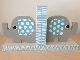 maple shade kids new elephant bookends elevate pachyderm inspired decor with the use of beautiful textured papers in a rainbow of orted colors