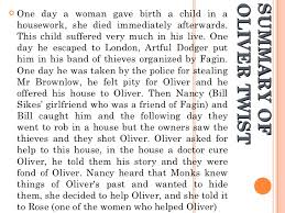 oliver twist inma ros summary of oliver twist
