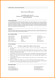 100 Summary Resume Samples Download Resume Examples For