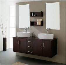 Frameless Mirror For Bathroom Bathroom Nifty Vessel Bathroom Vanity Cabinets With Frameless