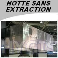 Hotte Professionnelle Sans Evacuation Exterieure Largeur 1000mm