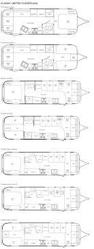 airstream floor plans. Airstream Classic Limited Travel Trailer Floorplans Floor Plans