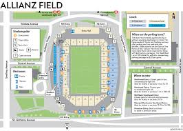 Allianz Field Seating Chart Drive Bus Shuttle Heres How To Get To St Pauls New