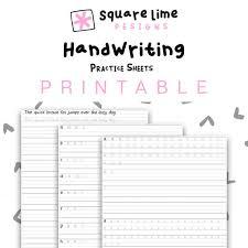 Hand Writing Sheets Handwriting Practice Sheets Uppercase Lowercase Handwriting Worksheets Pdf Printable