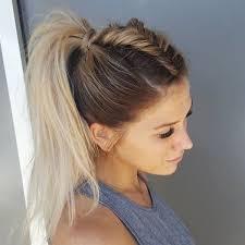 Image Coiffure Cheveux Mi Long Facile Tresse Coupe De