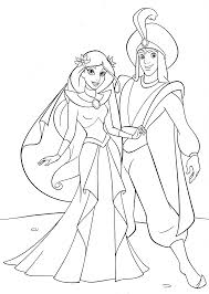 Small Picture Jasmine coloring pages with aladdin ColoringStar
