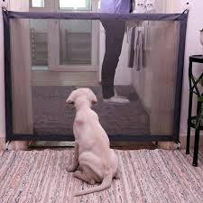 chien porte portable pliant safe guard protection s curit produits maille magique porte pour animaux de
