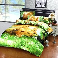 animal twin bedding safari