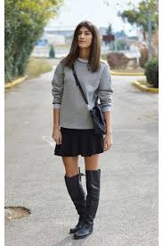 Satchel Nowhere Sweatshirts, Flared Boots, Boots, Knee High Noir ... & satchel Nowhere sweatshirt - flared boots - boots - knee high Noir boots Adamdwight.com