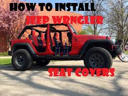 how to install jeep wrangler neoprene