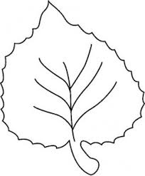 Small Picture Coloring Page Leaf Pattern Coloring Pages