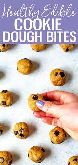 healthier edible cookie dough the