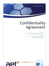Download Confidentiality Agreement - Docshare.tips