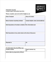 27 Incident Report Template In Pdf Free Premium Templates