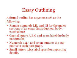 essay structure essay outlininga