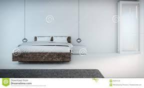 Minimal Bedroom Minimal Bedroom On Seaview Stock Illustration Image 62054725