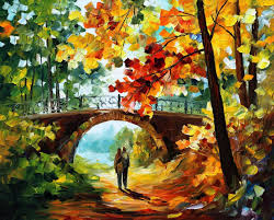 forgotten dreams palette knife oil painting on canvas by leonid afremov size 40 x30