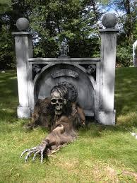 Outdoor Halloween Props Spooky Halloween Prop Tutorials One Armed Grave Grabber Foam