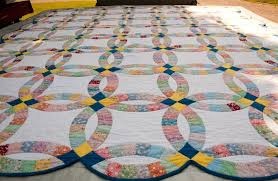 Double Wedding Ring Quilt History From Yesterday To Today Wedding ... & Double Wedding Ring Quilt History From Yesterday To Today Wedding Ring Patchwork  Quilt Adamdwight.com