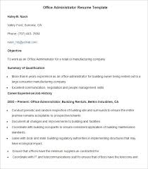 free office samples administration resume template 24 free samples examples format