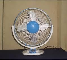 ac dc solar table fan