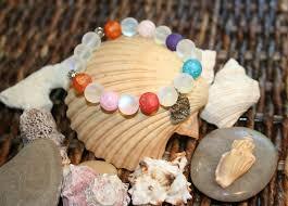 Rainbow Crackle Quartz Opal Stone Stretch by ReeseB by ME on Zibbet