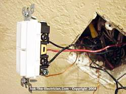 how to install a ceiling fan and wire the switch wiring a double switch or a stack switch a tandem double switch or stack switch will be used to control the ceiling fan motor and the ceiling fan light