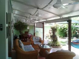 image of graceful patio shade covers fabric with lots of white 5 blade ceiling fan from amazon patio furniture covers