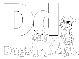 Small Picture Download Coloring Pages Letter D Coloring Pages Letter D
