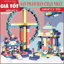 Báo giá Bộ xếp hình lego 520 chi tiết- Đồ chơi lắp ghép phát triển trẻ toàn  diện chỉ 139.000₫