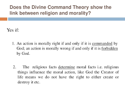 philosophical arguments for the link between god and morality 7