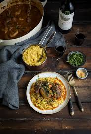 Cooking Light September 2016 Recipe Index A Classic Osso Bucco Recipe With Risotto Milanese Drizzle
