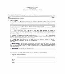 lease abstract template 26 free commercial lease agreement templates template lab