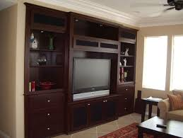 built in wall unit traditional