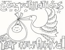 Small Picture Baby Shower Coloring Pages esonme