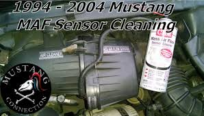 how to clean mustang gt maf sensor sn and snll to how to clean 1995 mustang gt maf sensor sn95 and sn95ll 1994 to 2004 mustang mass air flow sensor