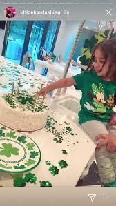 Rob Kardashians St Patricks Day Birthday Cake Dream Pics The Feast