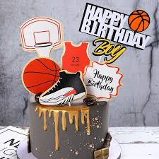 <b>Cake</b> Decoration Plugin Basketball Sneakers <b>Theme</b> Decoration ...