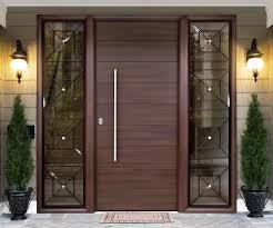 modern front door. Modern Wood Front Door