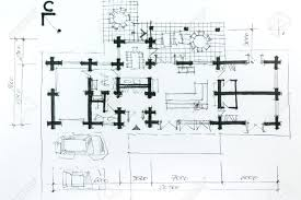 modern architectural sketches. Modern Architectural Drawing Sketch With Pencil House Plan Stock Photo Free Download Design Software For Sketches N