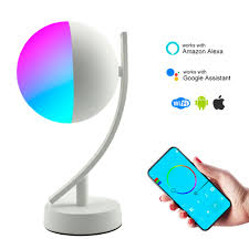 How Can Alexa Control My Lights Us 38 43 32 Off Tuya Smart Desk Lamp With Wifi Alexa Google Home Ambient Multicolored Led Light Bedside Lamp Voice Control Ios Android Phone In Led