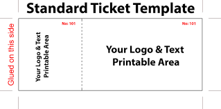 Christmas Party Tickets Templates Party Ticket Template Free Ninjaturtletechrepairsco 8