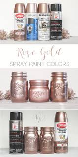 Rose Gold Spray Paint