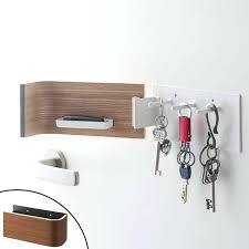 magnetic wall hooks key hooks magnet wooden i 1 4 key rack door storage wall mounted